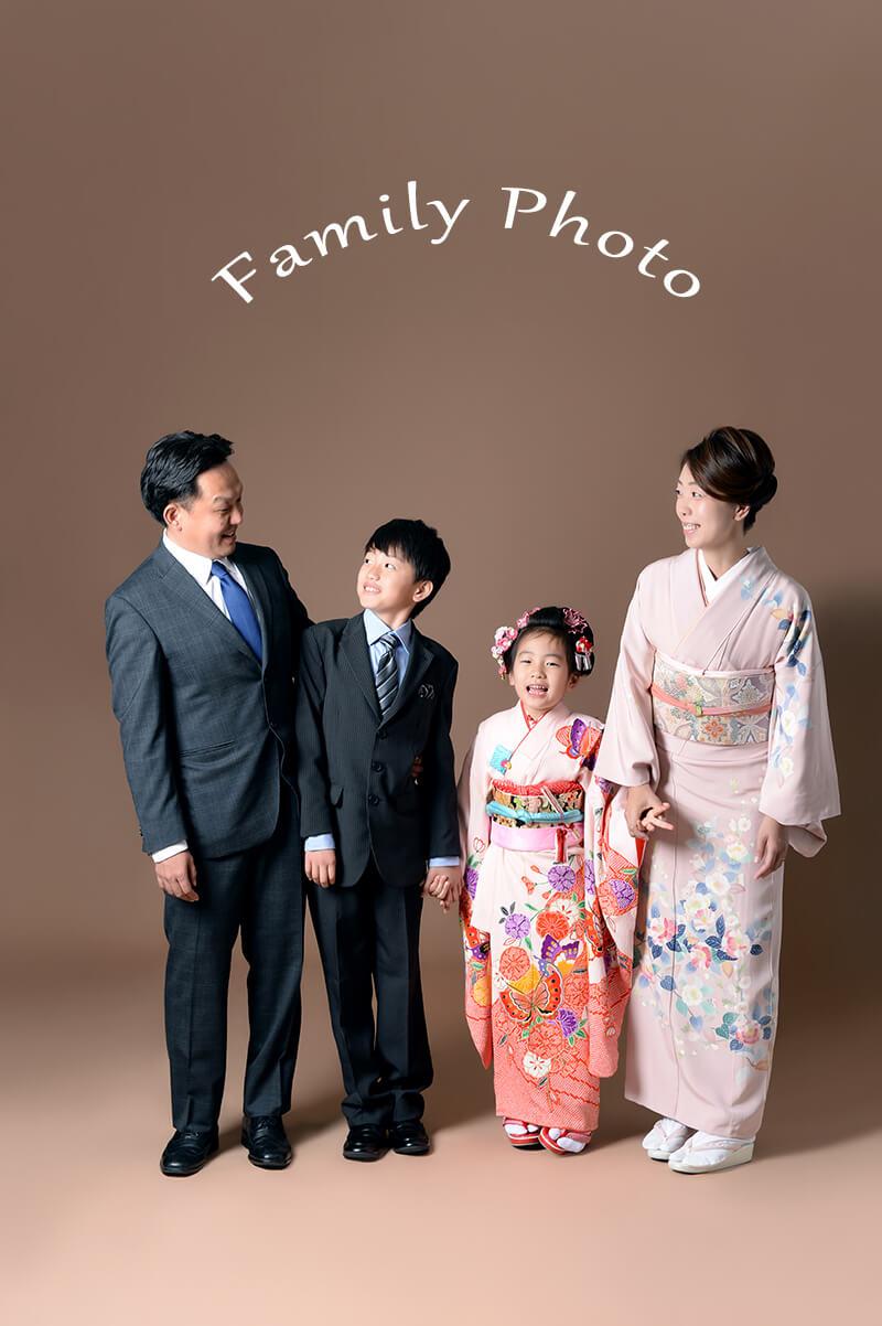 七五三撮影はひまわり 家族写真 七五三参り フォト 富山県高岡市 射水神社