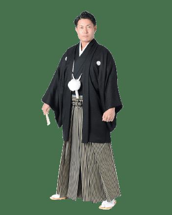黒紋付羽織袴