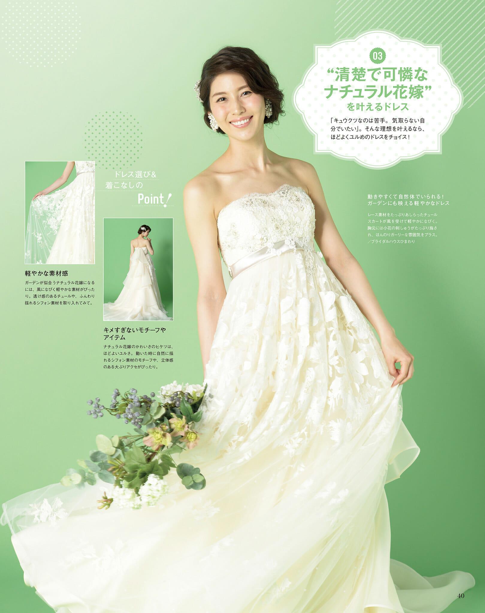 『結婚賛歌』特集ページにWedding Dressが掲載!