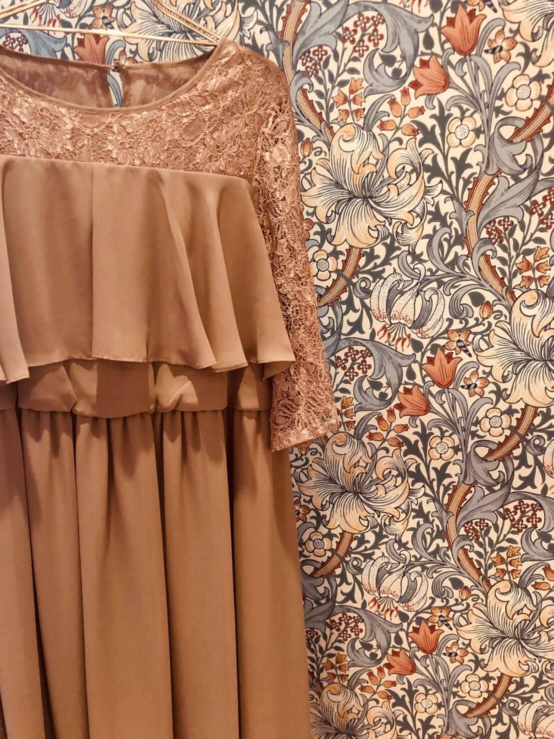 妊婦さんも安心の結婚式用ゲストドレスが入荷♪