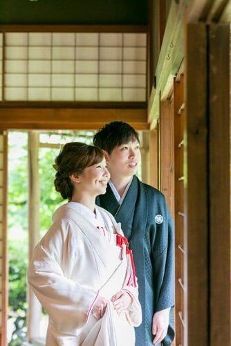 富山市内山邸 出張ロケーションウエディングフォト 安い料金のブライダルハウスひまわり