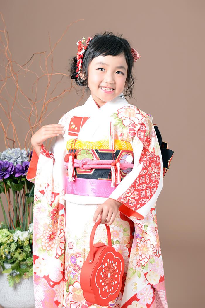 七五三7才女の子の前撮り 富山県高岡市 ブライダルハウスひまわり