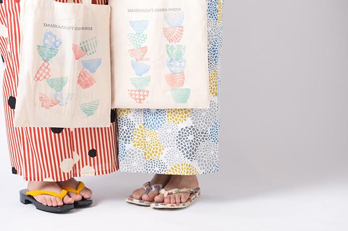 高岡クラフト市場街の浴衣レンタルはブライダルハウスひまわり 2019年も出店しました