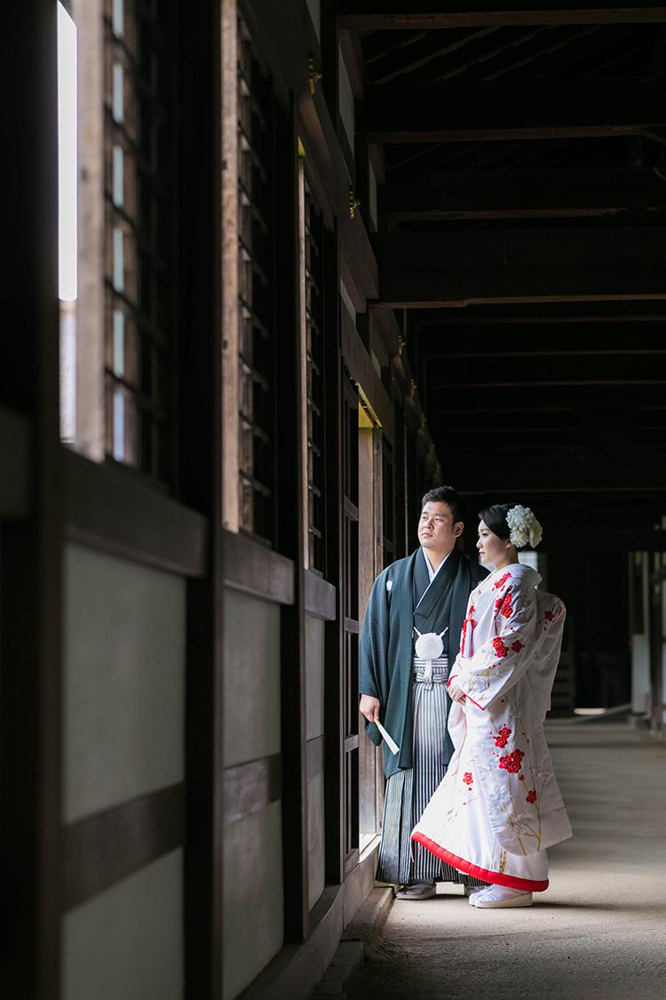 富山県の国号瑞龍寺にて、ブライダルハウスひまわりがプロデュースするウェディングフォトの撮影をしてきました